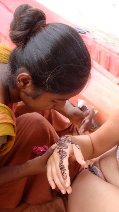 Henna in Goa